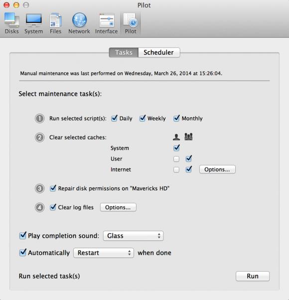 Cocktail für OS X 10.9 Mavericks