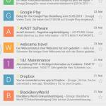 Google Mail - Benachrichtigungen