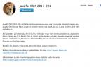 Java 6 für OS X