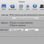 Deeper für Mac OS X 10.8 Mountain Lion