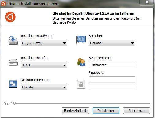 Wubi ermöglicht die Installation von Ubuntu unter Windows