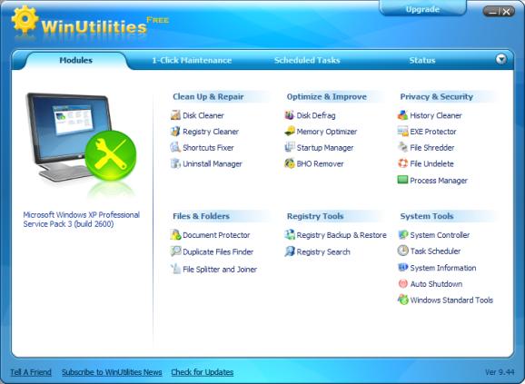 WinUtilities  (Screenshot: ZDNet.de)