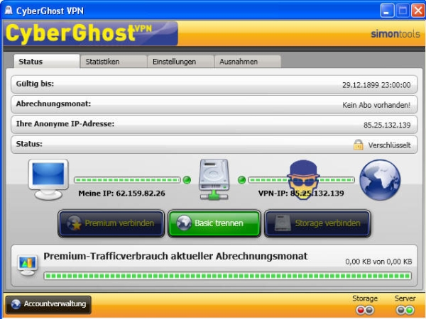 cyberghost 5 download