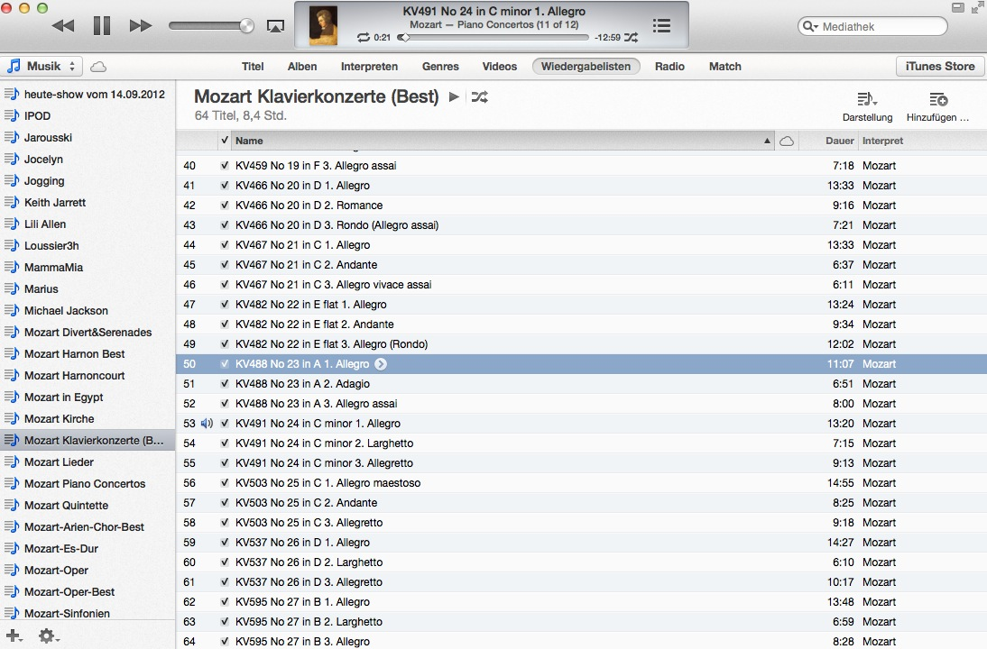 iTunes 11 kommt ohne Cover Flow