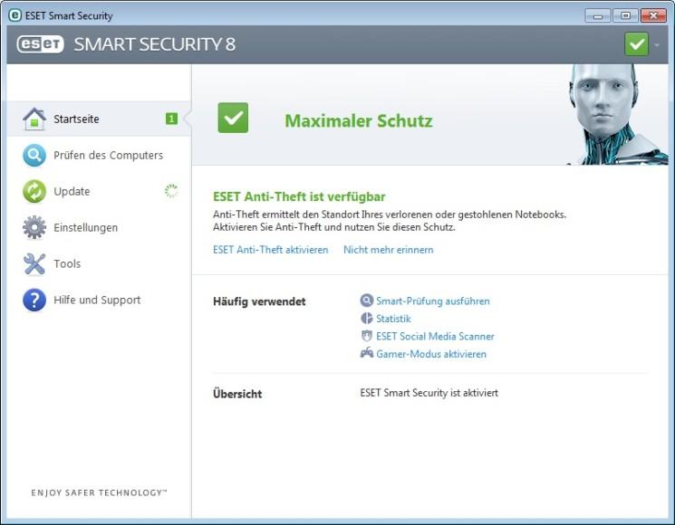 Eset Smart Security 2015 (Screenshot: Eset)