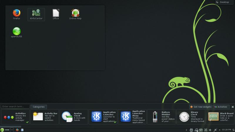 suse linux betriebssystem