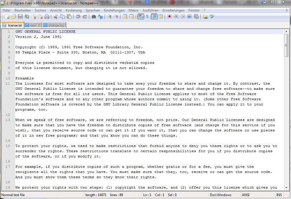 Notepad++: komfortabler Editor für Windows