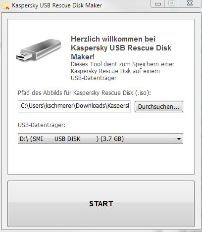 USB-Installer für KAV-ISO