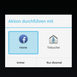 Facebook Home: Launcher