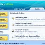 Glary Utilities: Dateien und Ordner