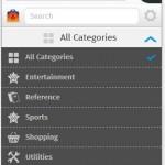 Zusätzliche Apps lassen sich über https://marketplace.firefox.com/ installoeren