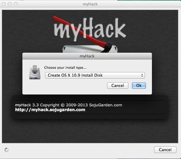 Dann legt man fest, auf Basis welcher OS-X-Version der bootfähige USB-Stick erstellt werden soll