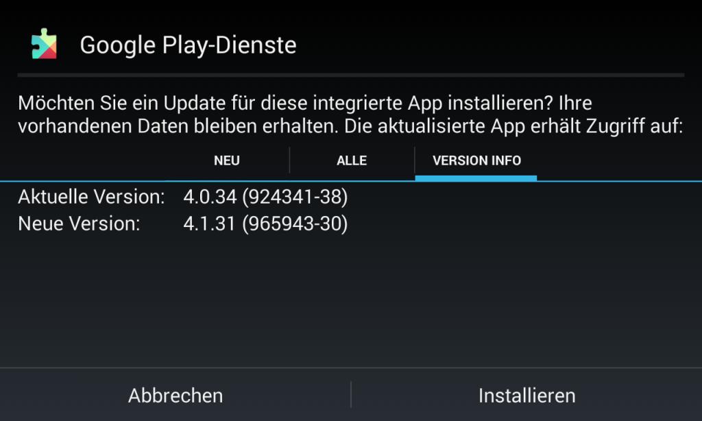Google Play-Dienste