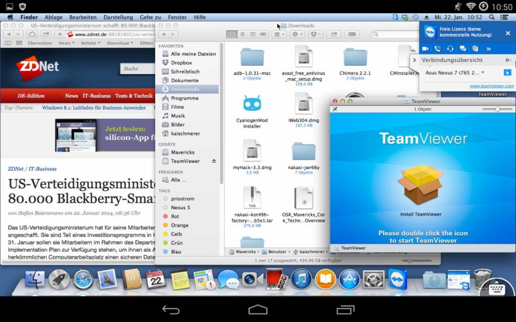 TeamViewer für Fernwartung