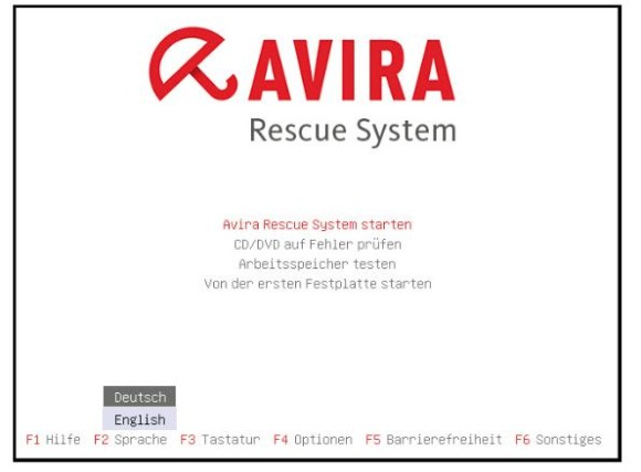 AviraRescue System