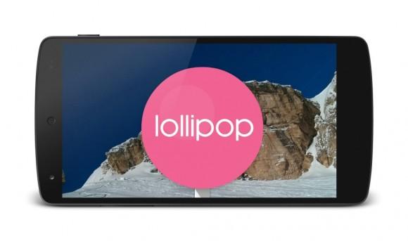 Android 5.0 Lollipop auf dem Nexus 5 (Bild: ZDNet.de)