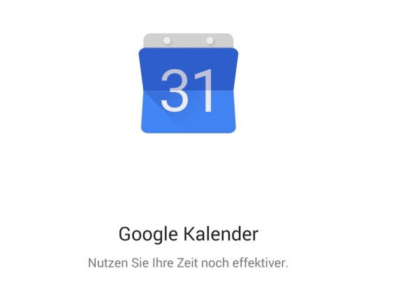 Google Kalender 5.0 (Screenshot: ZDNet.de)