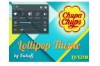 Lollipop-Theme für LG G3 (Bild: Kickoff)