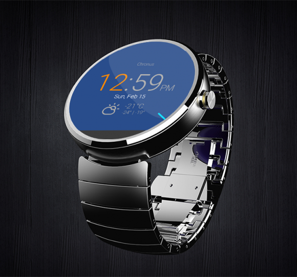 Chronus mit Support für Android Wear (Bild: Chronus)