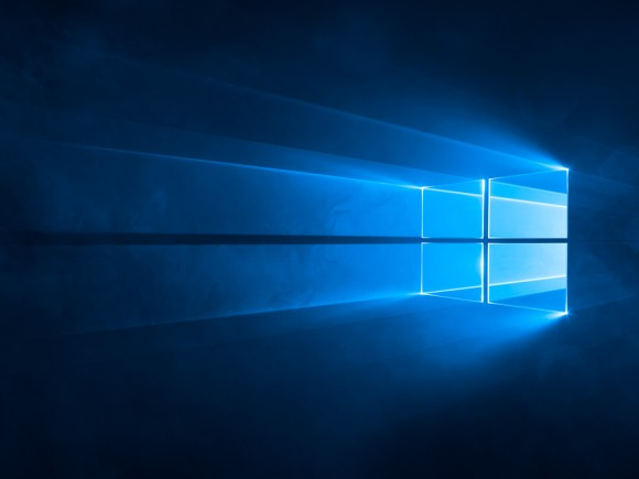 Windows 10: Standard-Hintergrundbild (Bild: Microsoft)