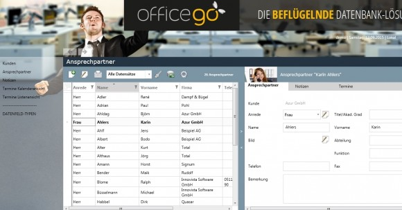 Officego_zwei_Fenster (Screenshot: ITespresso)