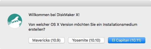 DiskMaker X (Screenshot: ZDNet.de)
