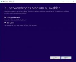 Windows 10 MediaCreationTool (Screenshot: ZDNet.de)
