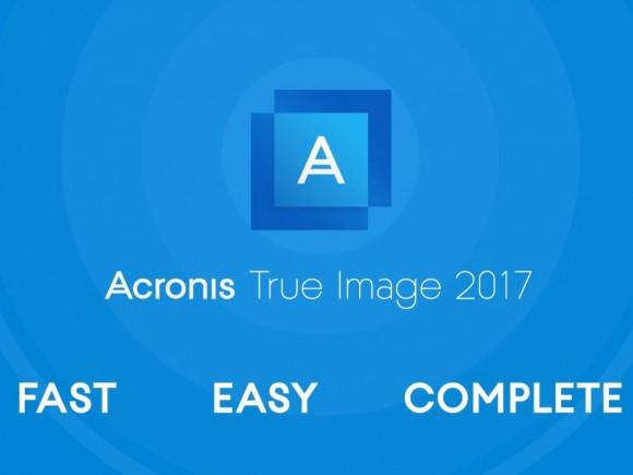 Acronis True Image 2017 (Bild: Acronis)