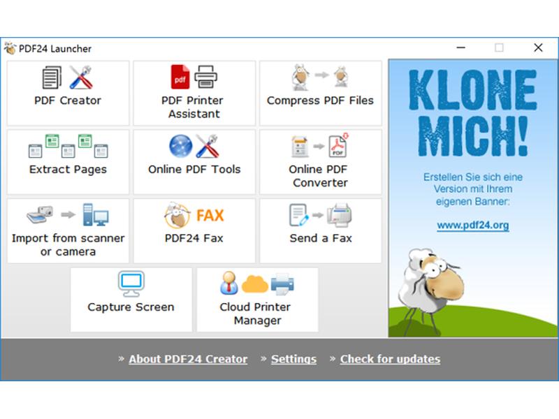 PDF24 Creator Download   ZDNet de